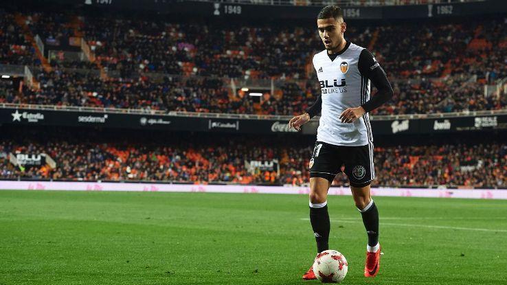 Valencia's Andreas Pereira