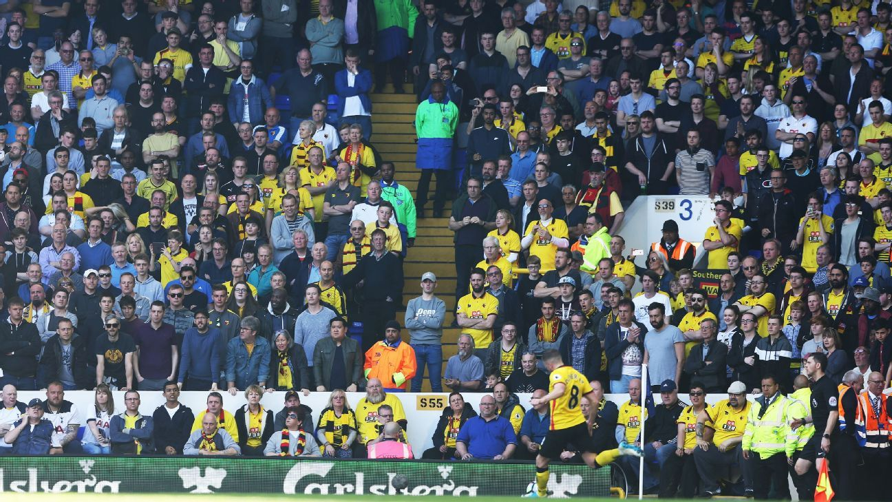 Safe standing at stadiums should return to English football