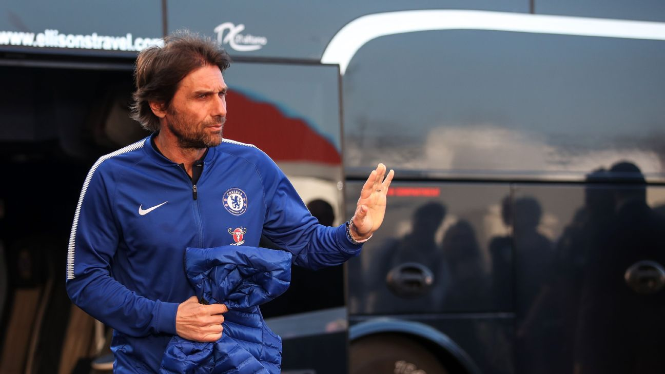 Antonio Conte could only guide Chelsea to a Europa League spot in the 2017-18 Premier League.
