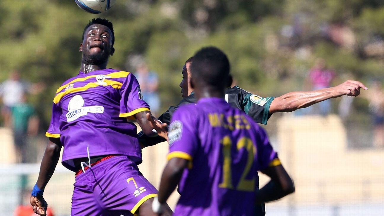 Medeama SC player Gordon Joseph