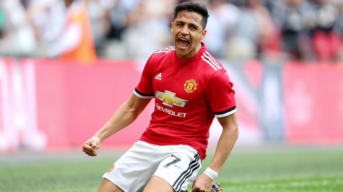 Alexis Sanchez stepped up on the big stage at Wembley for Man United.