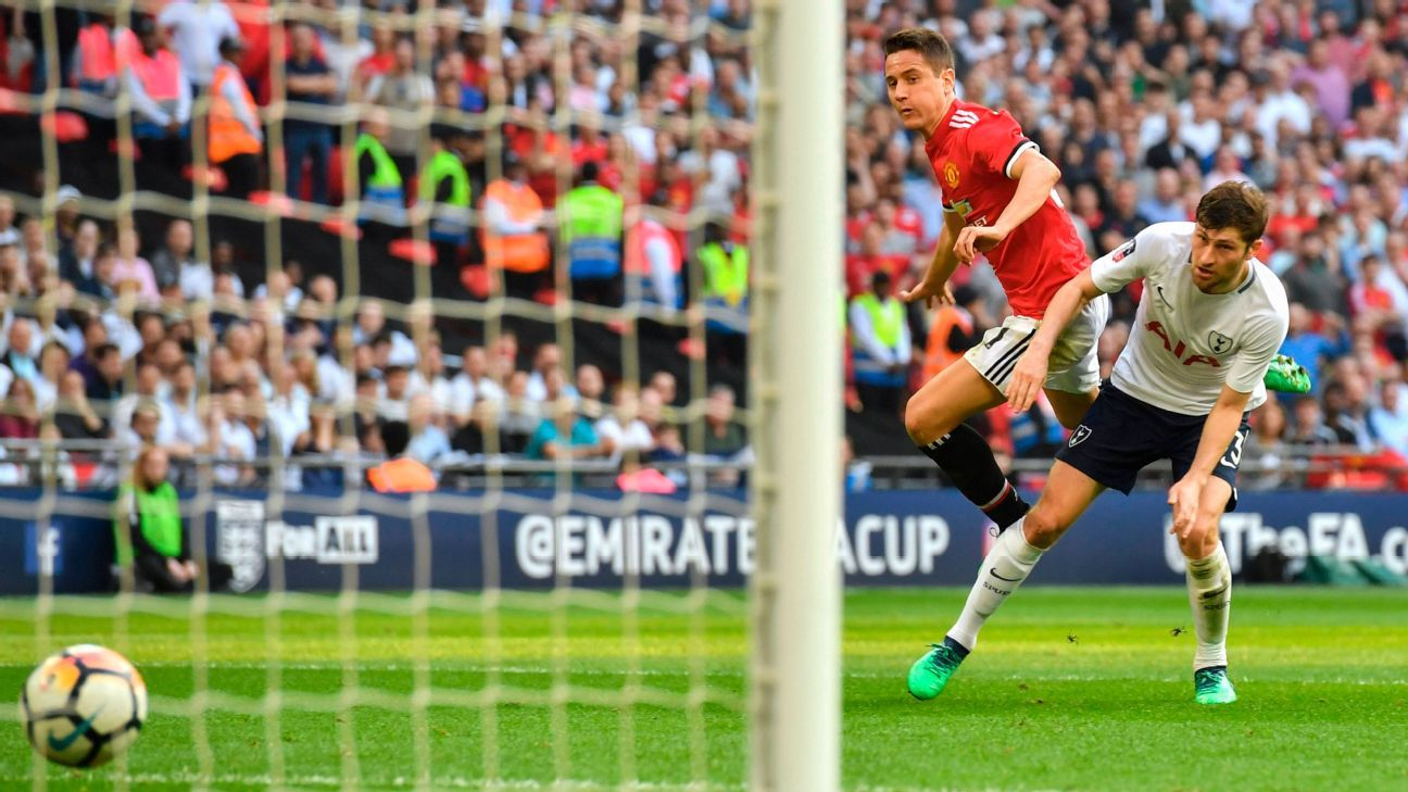 Ander Herrera's second-half strike put Man United into the FA Cup final.
