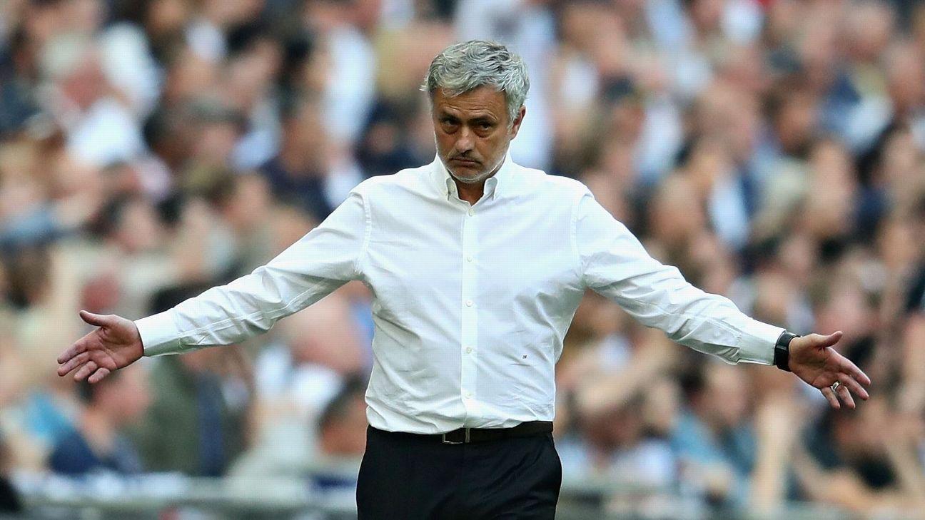 Manchester United's Jose Mourinho