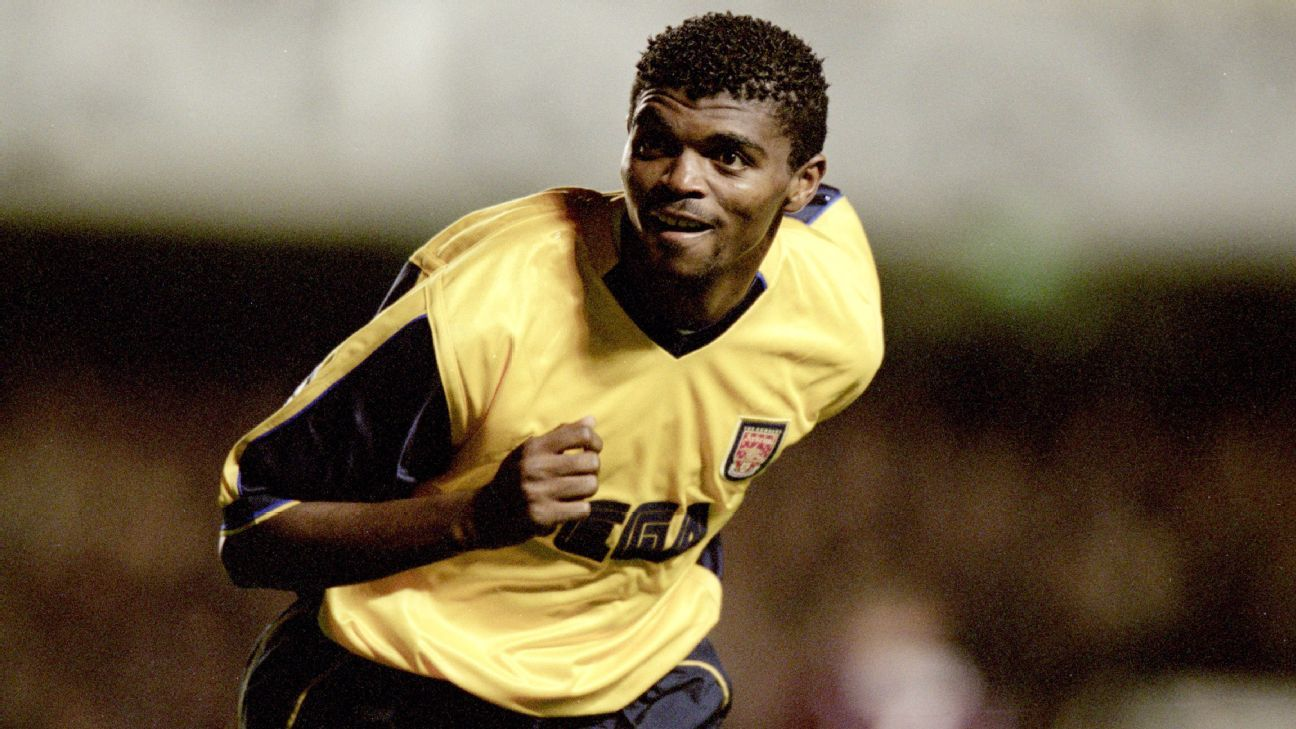 Nwankwo Kanu of Arsenal