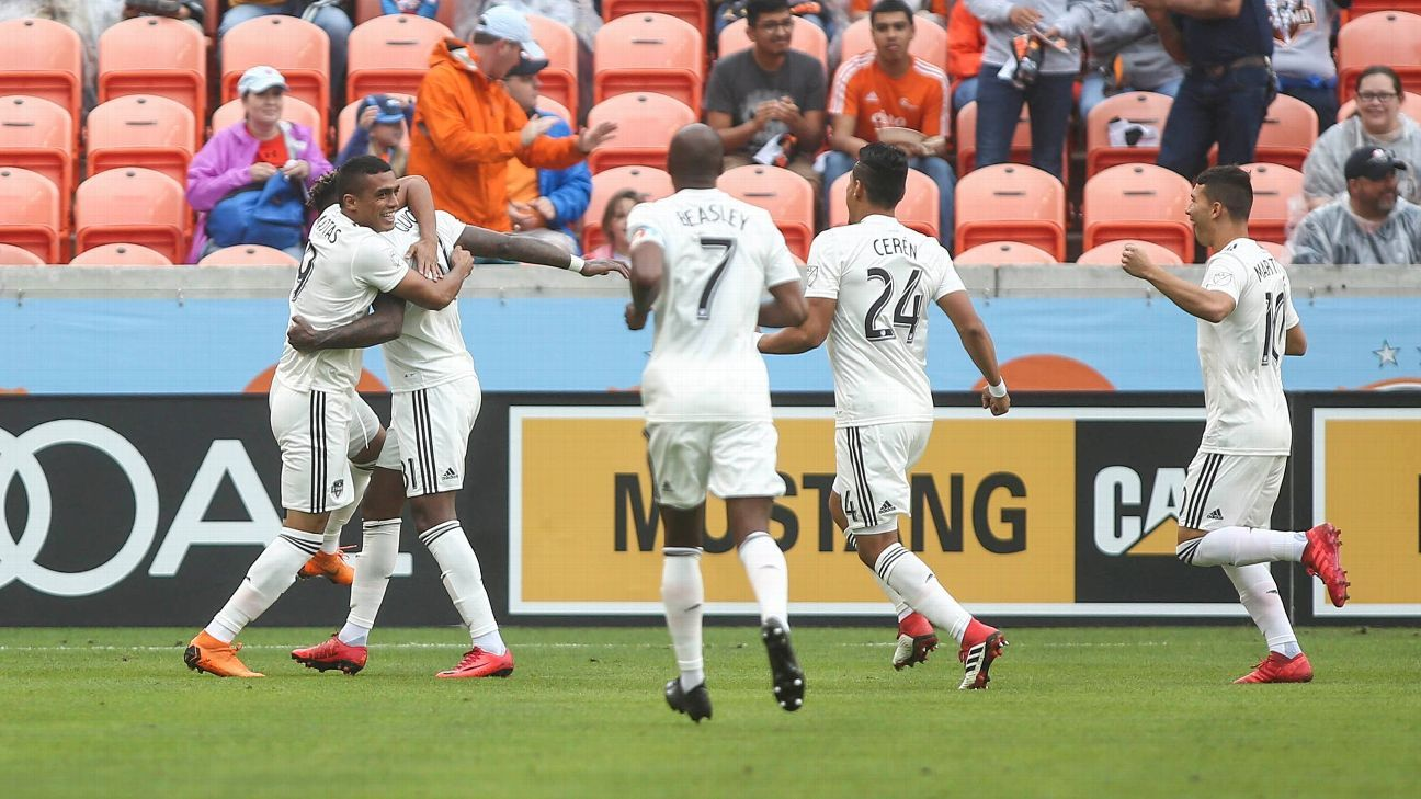 Houston Dynamo roll over depleted Toronto FC lineup