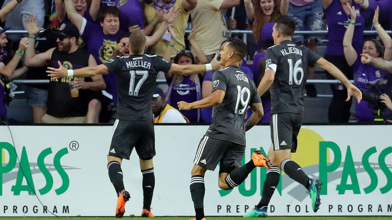Orlando City holds off San Jose Earthquakes for fourth win in a row