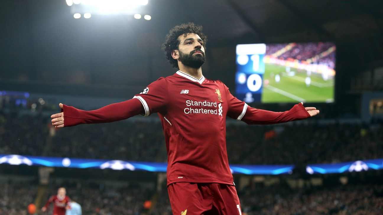 Mohamed Salah has enjoyed a stunning debut season at Liverpool.