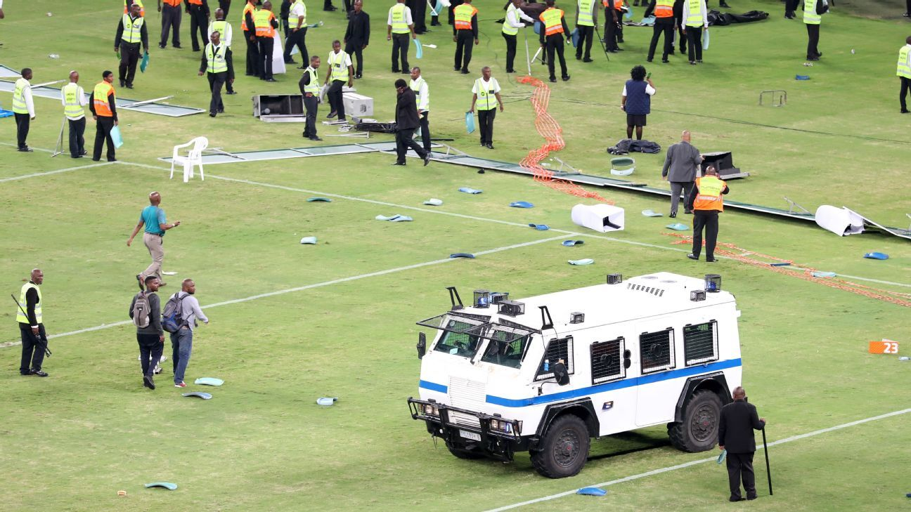 Violent scenes at Moses Mabhida Stadium