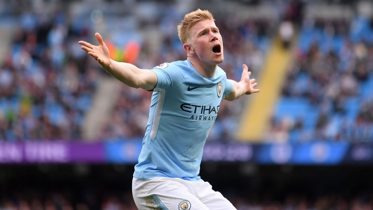 Kevin De Bruyne lost out to Mo Salah for PFA Player of the Year.