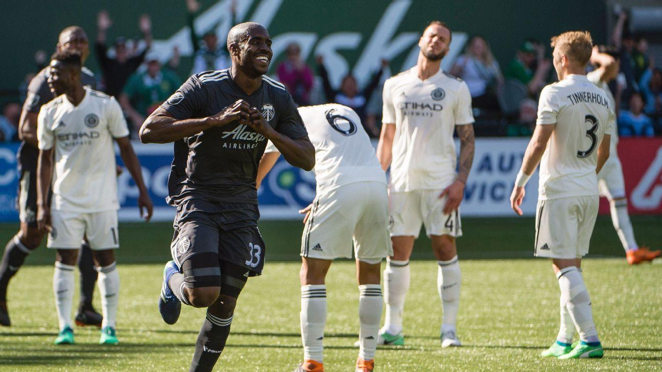 Portland Timbers end New York City FC's unbeaten start to season