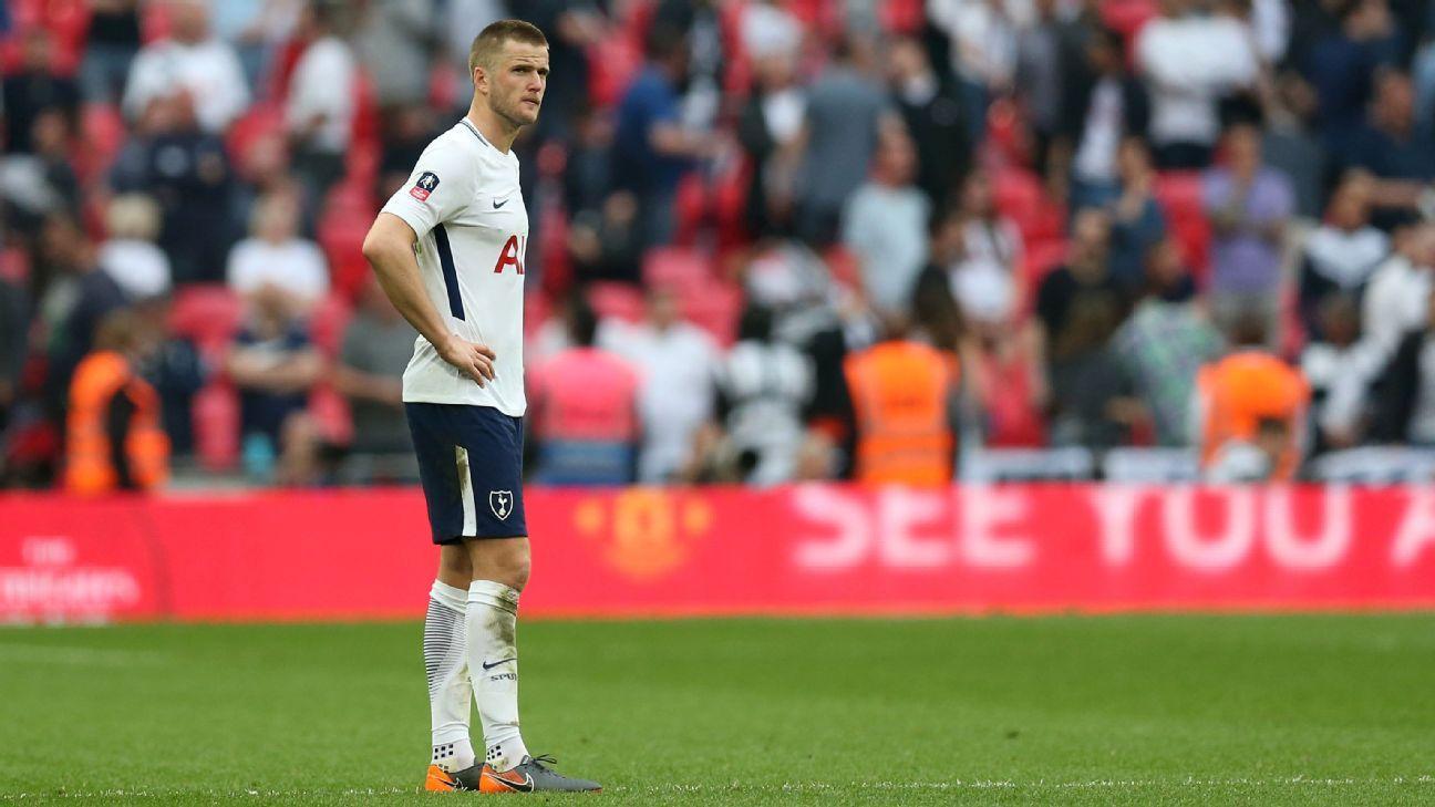 Tottenham Hotspur's Eric Dier