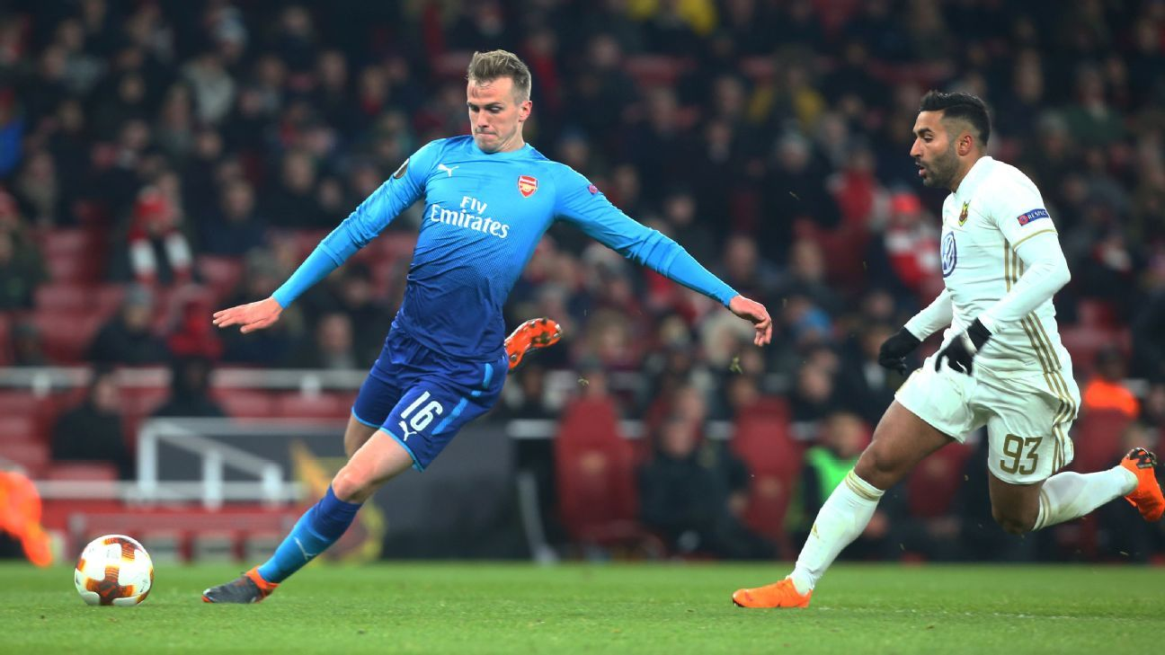Holding could benefit from some regular playing time elsewhere before coming back to the Emirates.