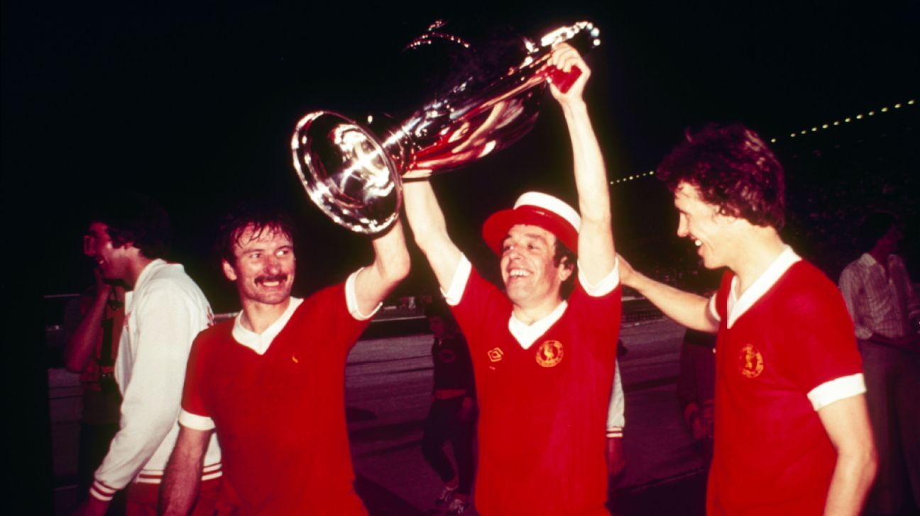 Liverpool's European Cup glory in 1977 over Borussia Monchengladbach was followed by a tricky semifinal against the same team in 1978. Liverpool won 4-2 on aggregate.