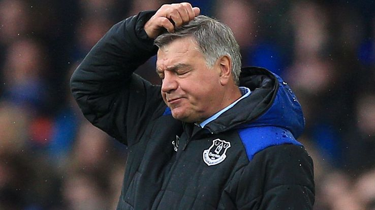 Sam Allardyce struggled to win the fans over at Everton with style and attitude.
