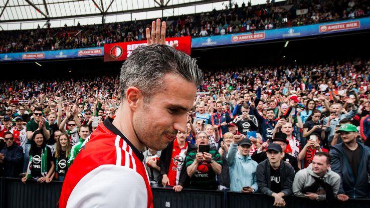 Feyenoord's Robin van Persie