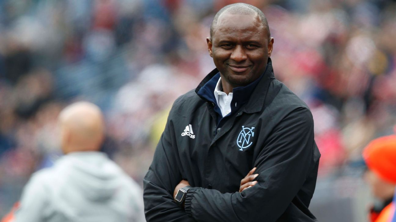 Patrick Vieira can't rule out NYCFC exit amid links to Nice job