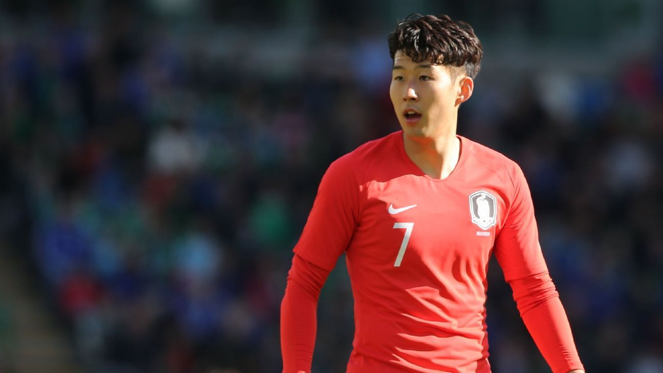 South Korea and Tottenham Hotspur forward Son Heung-Min