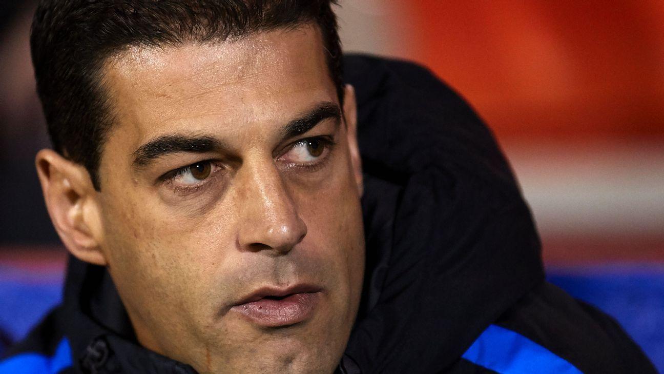 Former Barcelona B coach Gerard Lopez