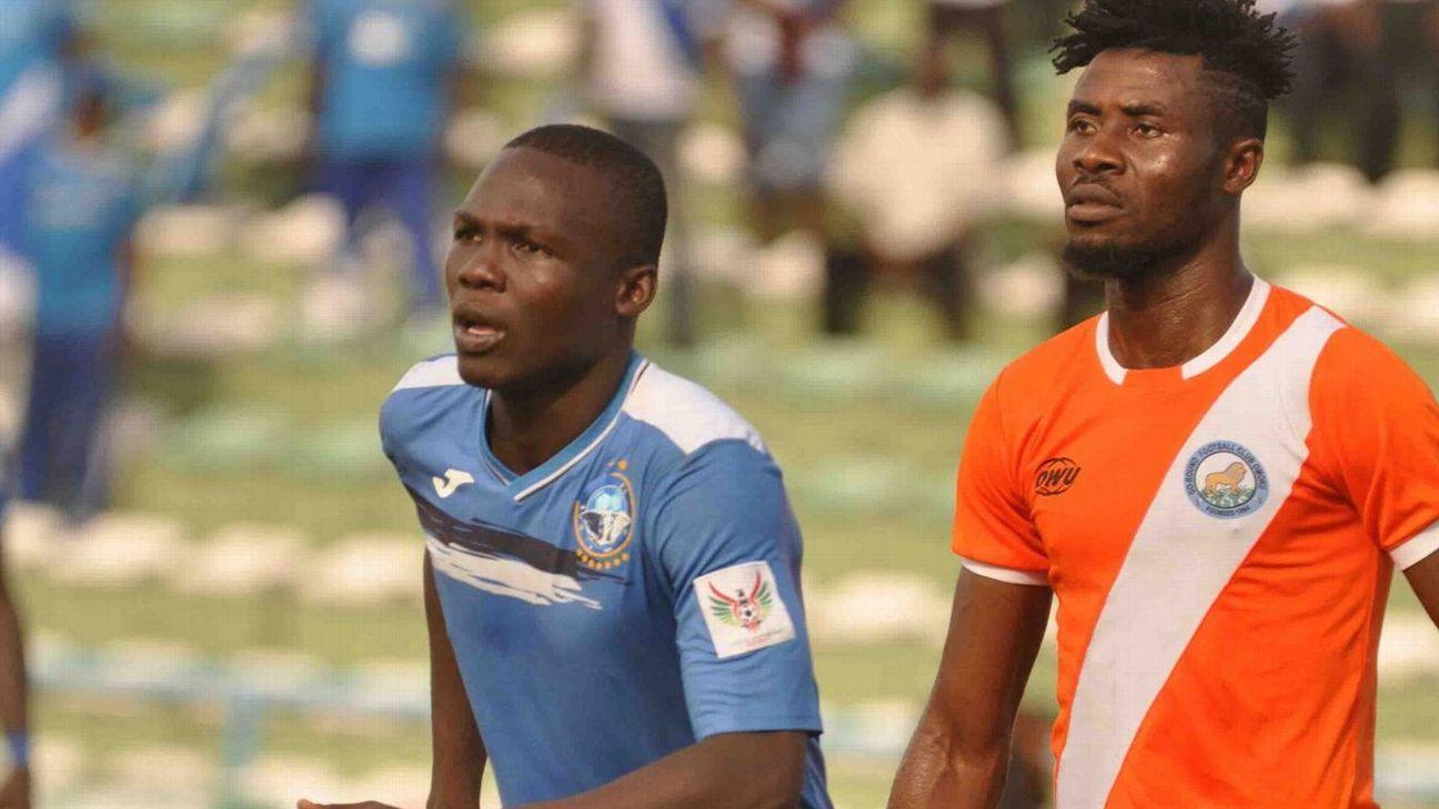 Ibrahim Mustapha of Enyimba vs. Go Round FC
