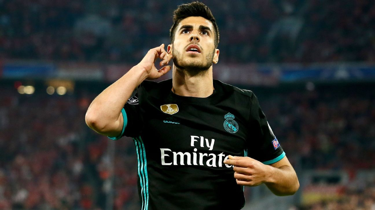 Marco Asensio came off the bench to score a well-taken winner at Bayern Munich.