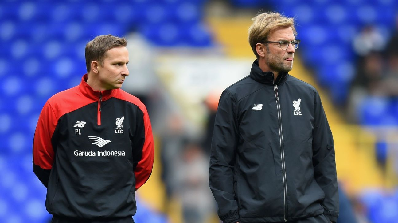 Pepijn Lijnders says Jurgen Klopp is one of the