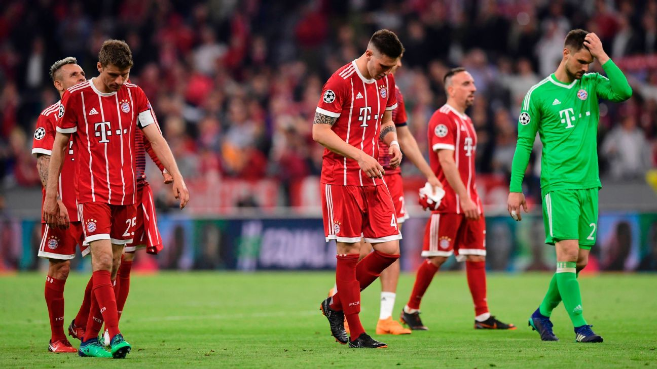 Bayern Munich were left shaking their heads on Wednesday.