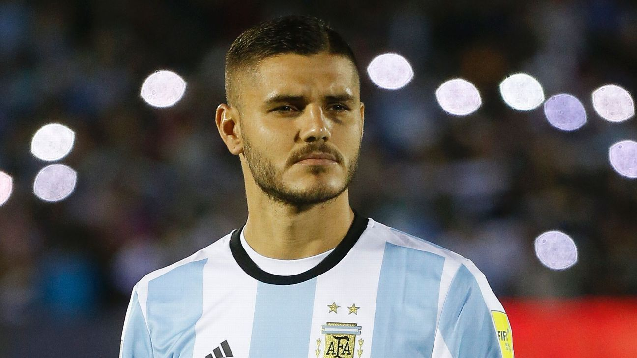 Argentina and Inter Milan striker Mauro Icardi