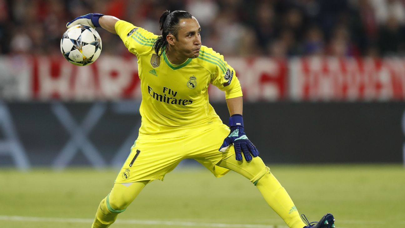 Keylor Navas has a fight on his hands for the Real Madrid No. 1 shirt.