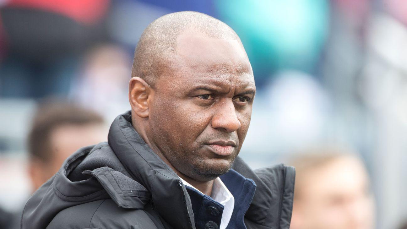 NYC FC's Patrick Vieira wanted by Nantes to replace Claudio Ranieri
