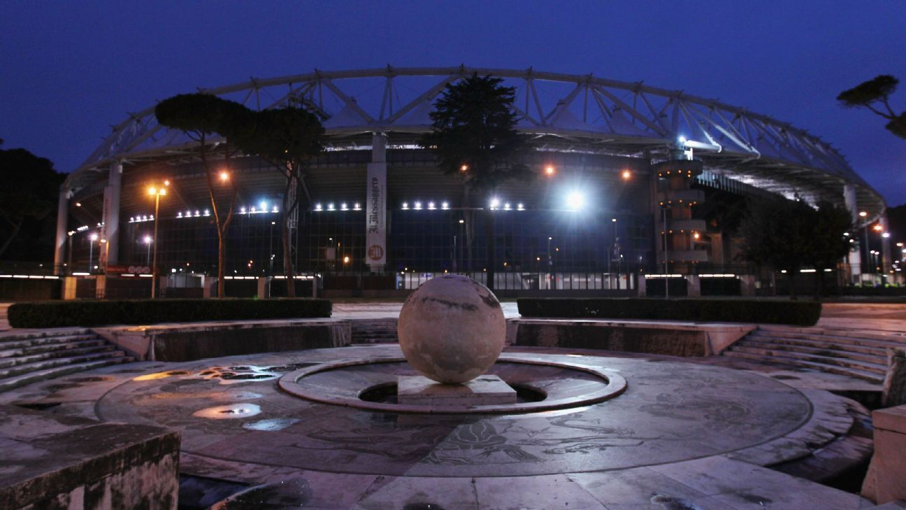 The Stadio Olimpico in Rome