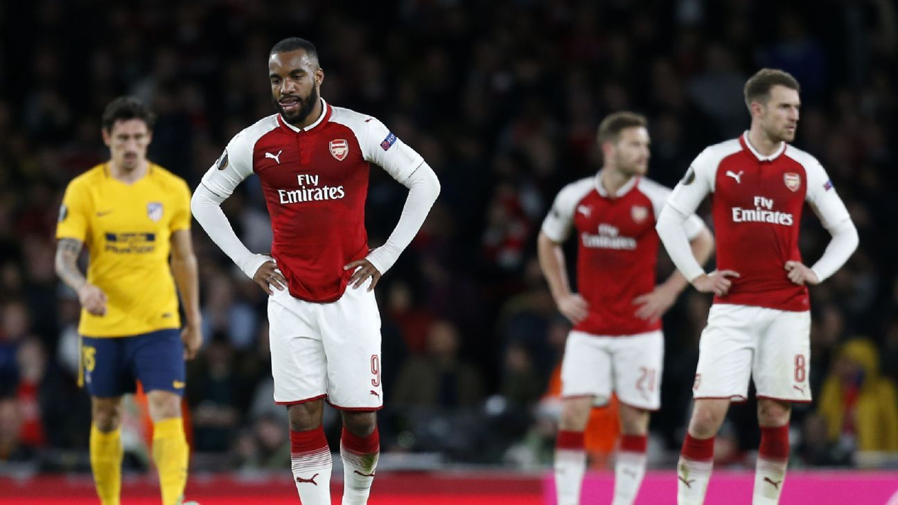 Arsenal were punished for their wastefulness as Atletico Madrid equalised late on.