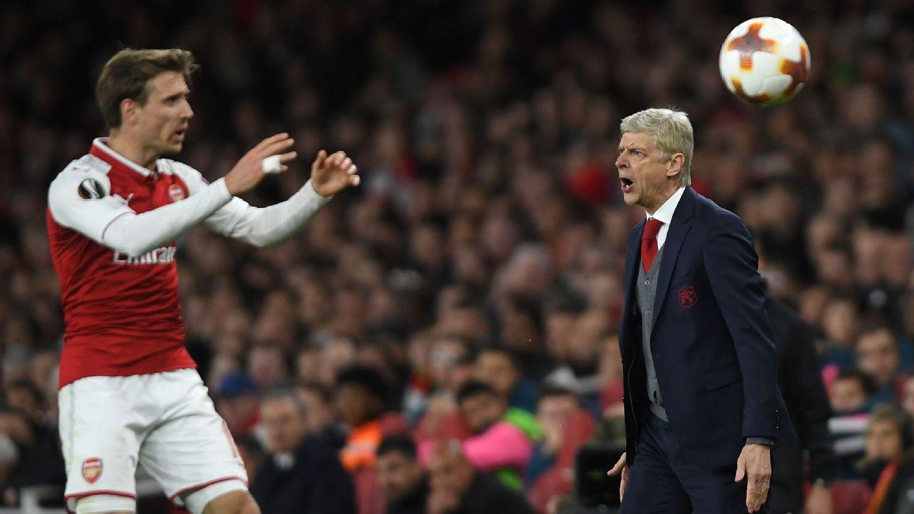 Wenger shouts against Atleti 180426