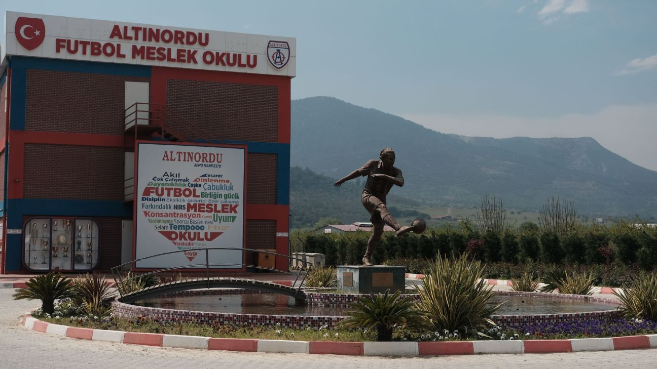 Altinordu have a wonderful set of facilities.