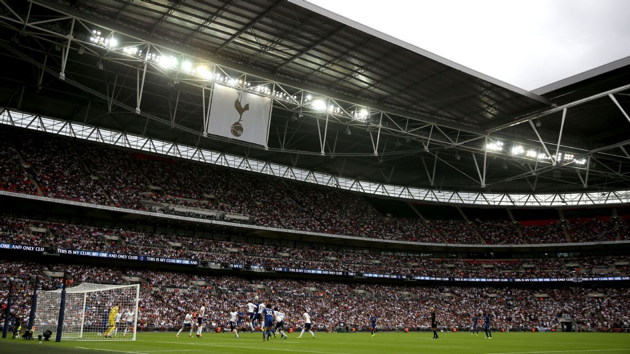 Tottenham played their first home league game at Wembley against Chelsea, who could also be future tenants at the stadium