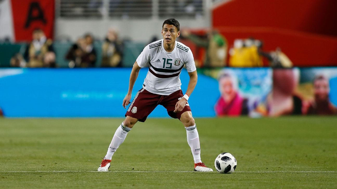 Hector Moreno's time in Europe has made him one of Mexico's best defenders