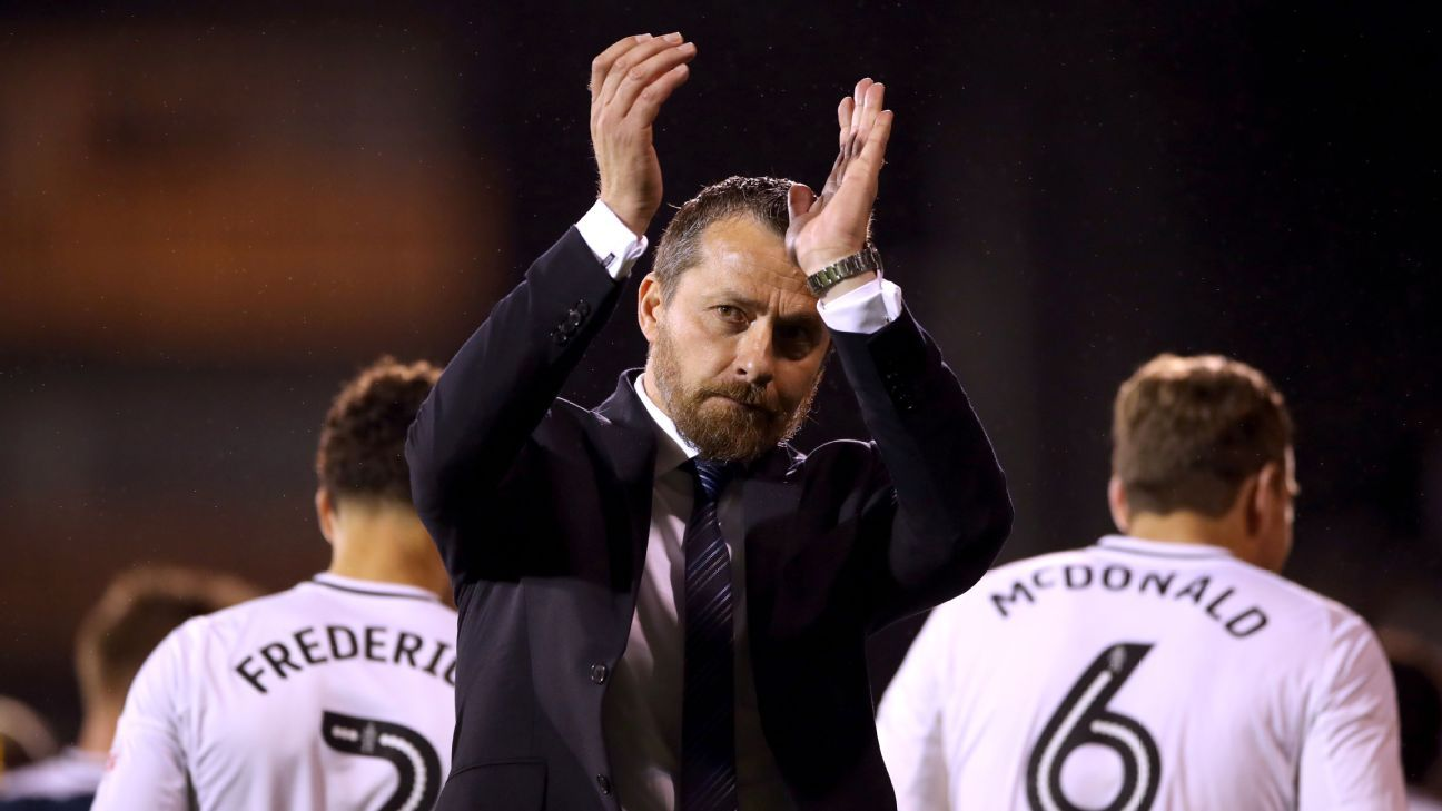 Fulham manager Slavisa Jokanovic applauds the fans at the end of his team's win against Sunderland.