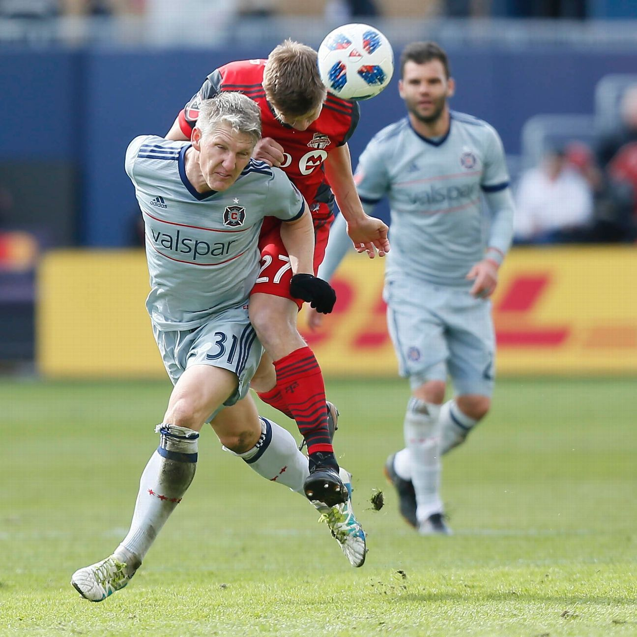 Bastian Schweinsteiger goal helps Chicago Fire rally for draw with Toronto