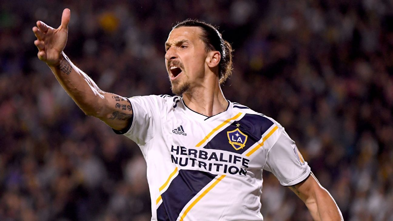 Zlatan Ibrahimovic's message to LA Galaxy fans: You will renew now