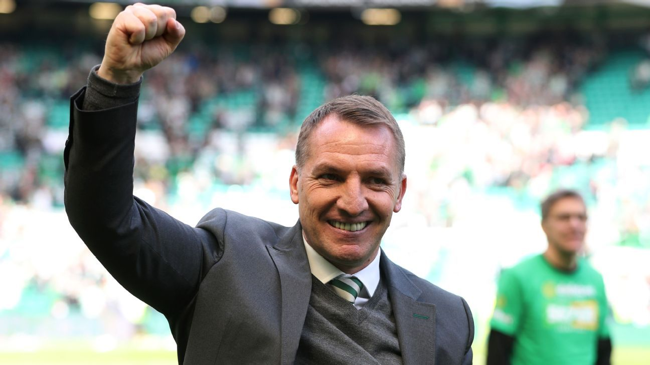 Brendan Rodgers has had a hugely successful spell as Celtic manager.