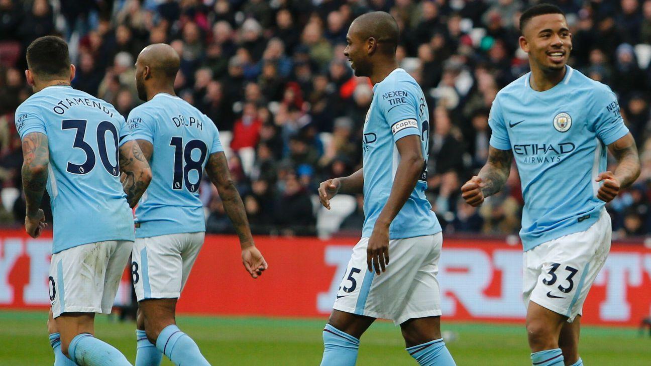 Gabriel Jesus has scored 12 goals in 26 Premier League appearances for Manchester City this season.