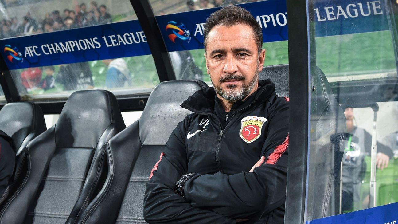 Shanghai SIPG coach Vitor Pereira's side were held to a goalless draw.