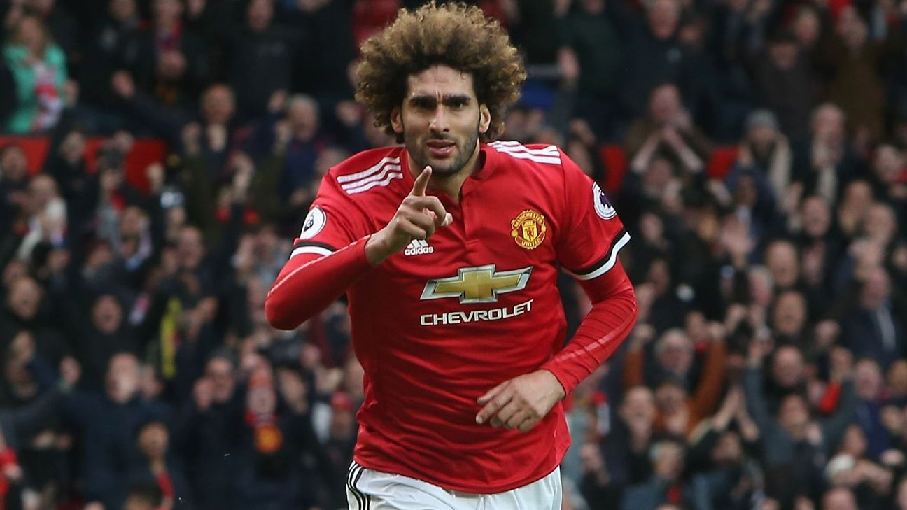 Marouane Fellaini could leave Manchester United for free in the summer.