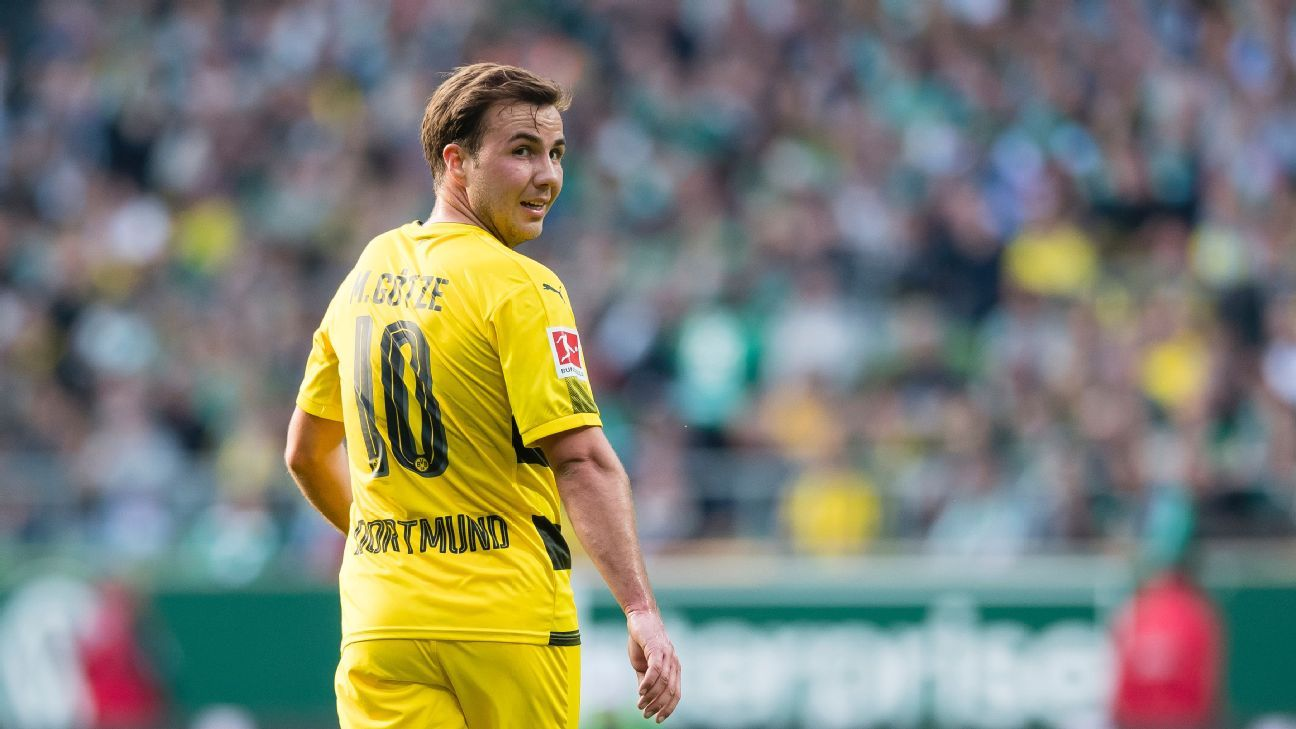 Borussia Dortmund's Mario Gotze
