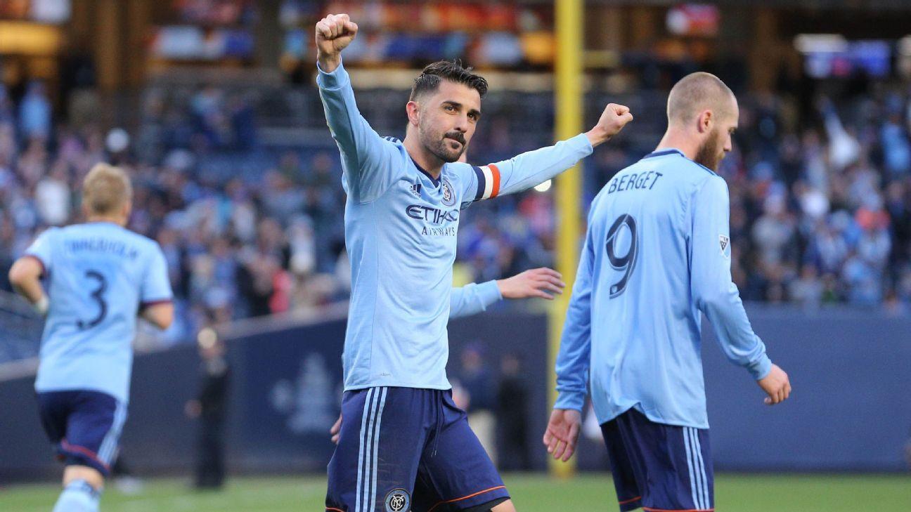 New York City FC's David Villa insists MLS is improving every year