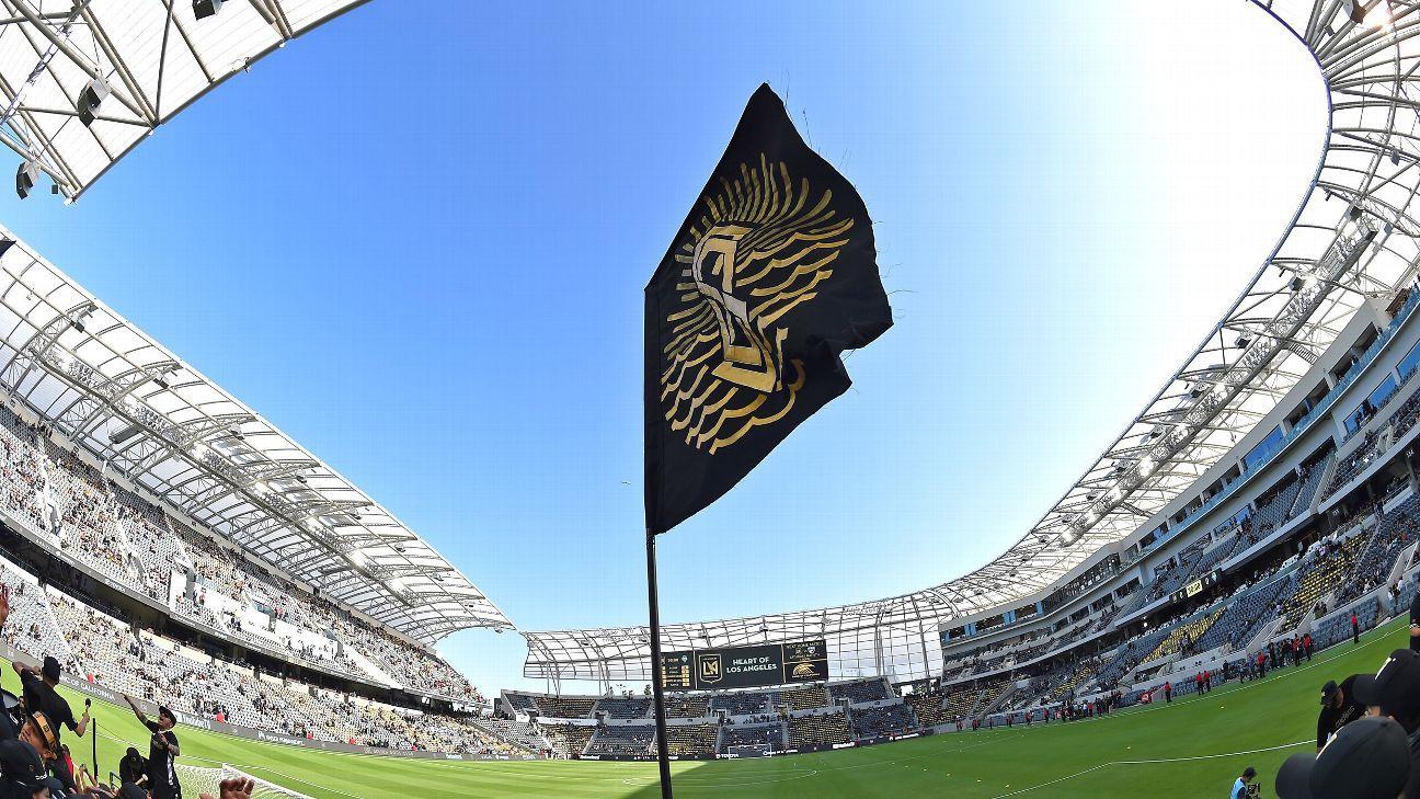 LAFC Stadium opener 180429