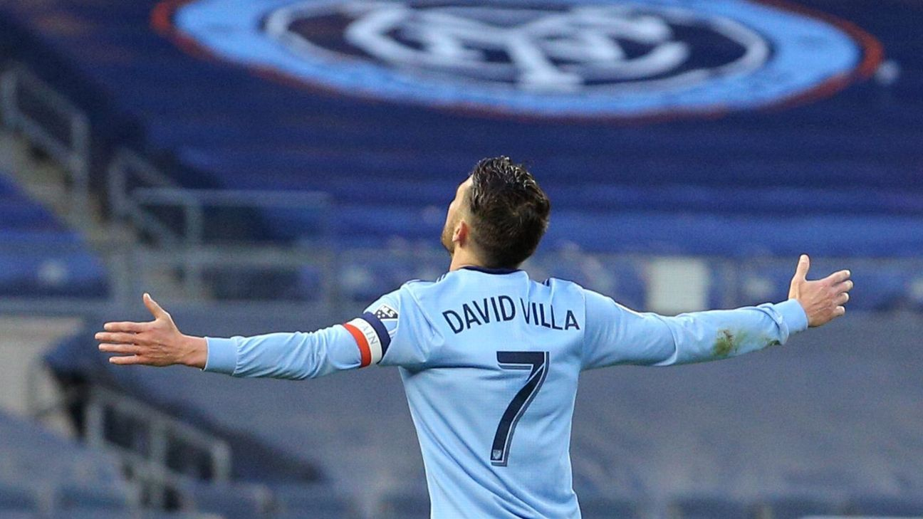 New York City FC striker David Villa leaving club after four seasons with no plans to retire