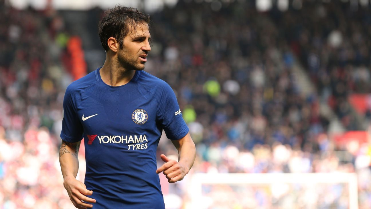 Cesc Fabregas has won the Premier League with Chelsea on two occasions.