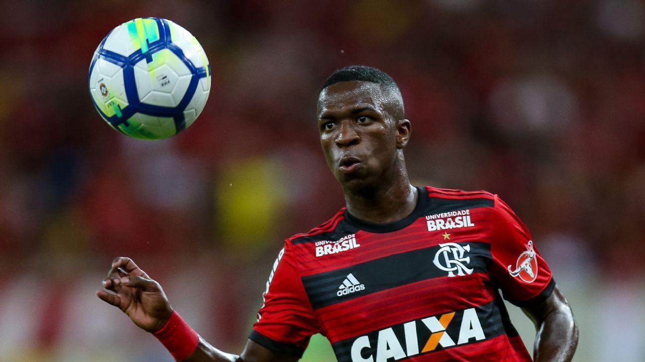 Flamengo's Vinicius Jr.