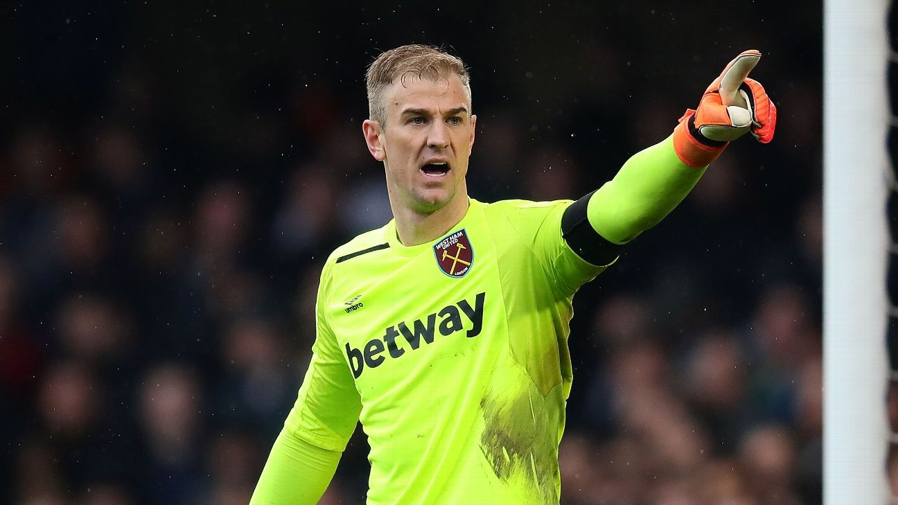 West Ham United's Joe Hart