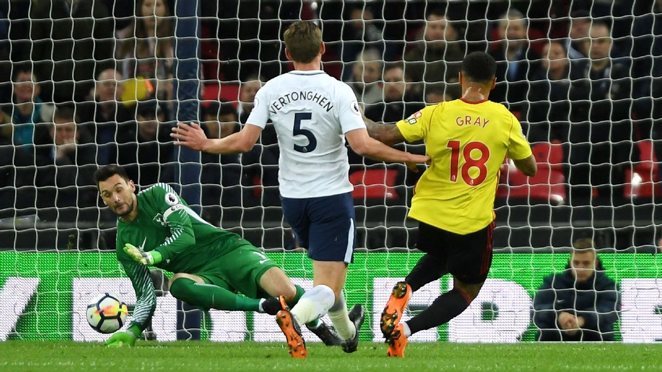 Lloris save vs Watford 180430
